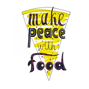 make peace with food