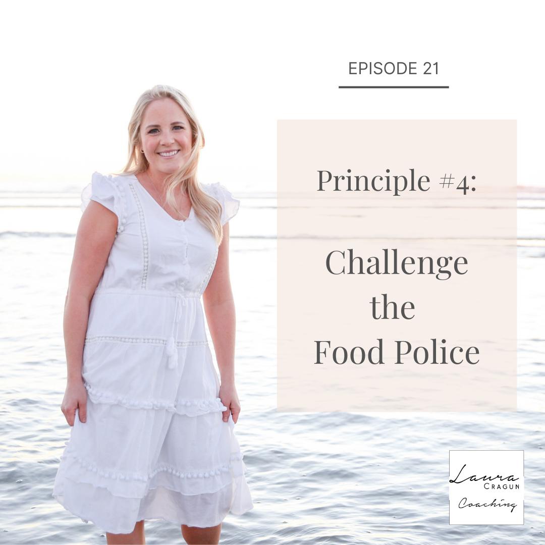 challenge the food police
